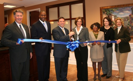 Ribbon Cutting Ceremony at Business Suites of Columbia